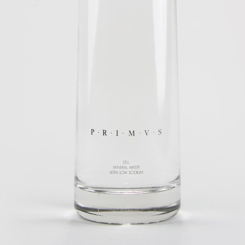 PRIMVS ナチュラルミネラルウォーター(無炭酸)750ml / STILL NATURAL MINERAL WATER LOW SODIUM