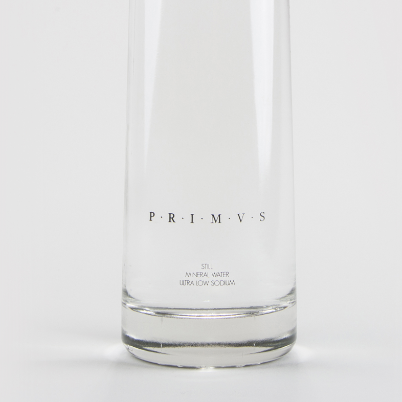 PRIMVS ナチュラルミネラルウォーター(無炭酸)350ml / STILL NATURAL MINERAL WATER LOW SODIUM